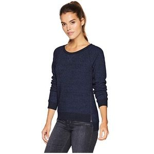 UGG women's Morgan sweatshirt with side zippers S
